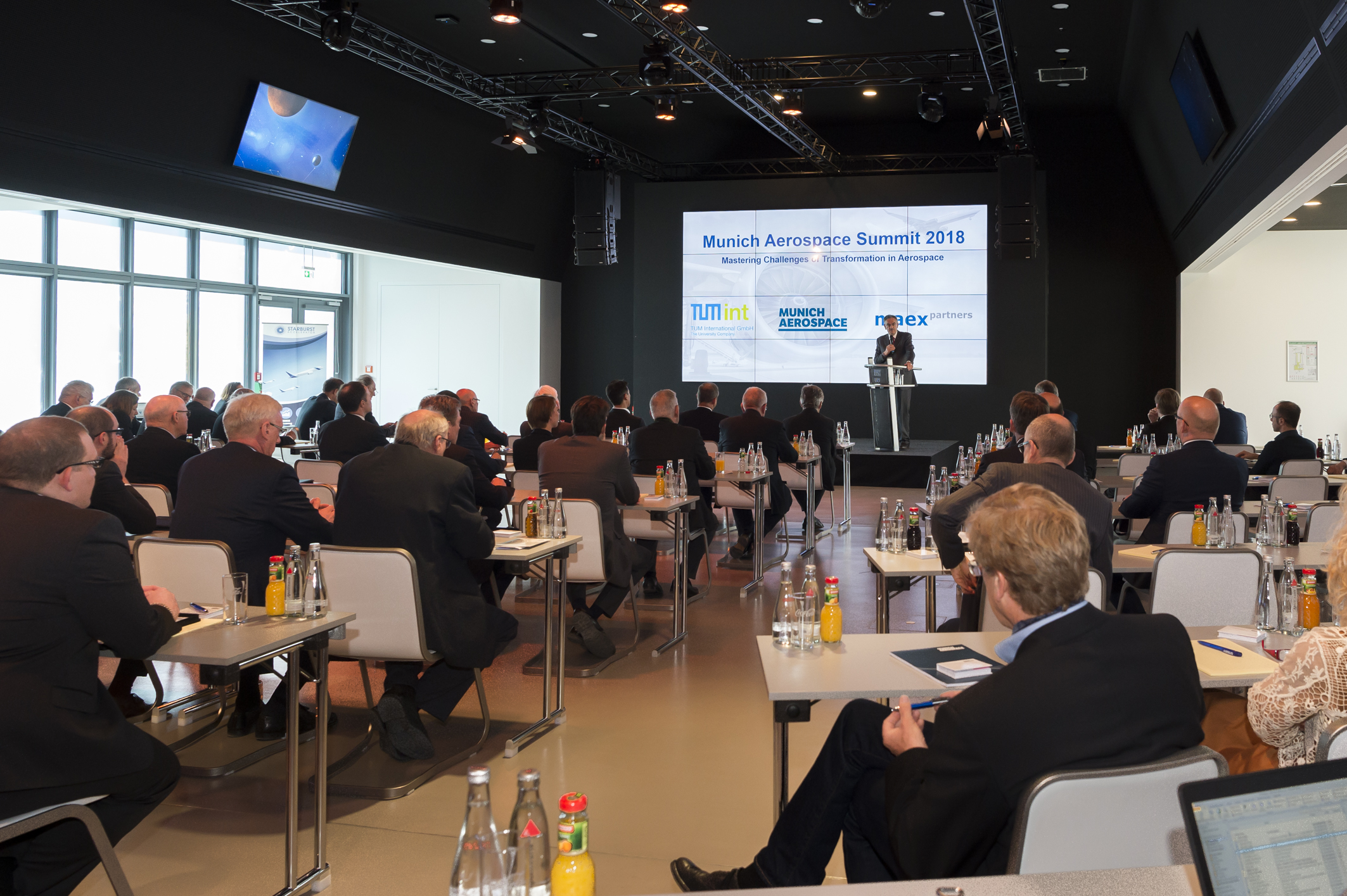 """Munich Aerospace Summit"" held for the first time at the Ludwig Bölkow Campus"